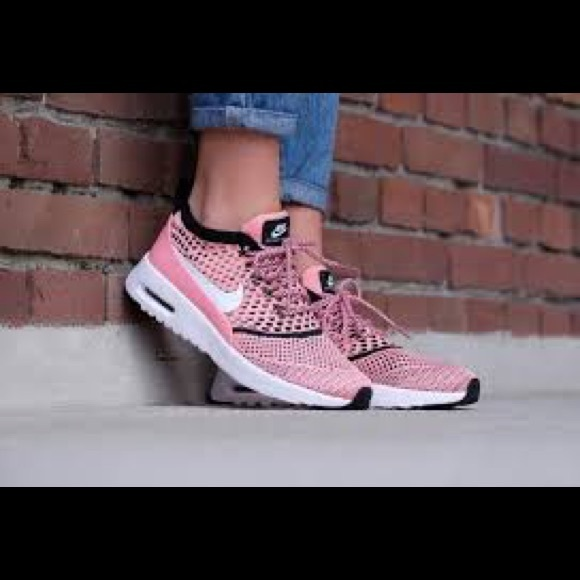 4f8493f736 Nike Shoes | Air Max Thea Ultra Fk Flyknit Pink Running | Poshmark